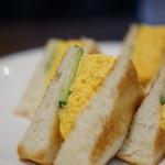 支留比亜珈琲店 - エッグトースト