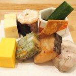 56829868 - 舞 1000円 の彩り前菜