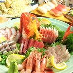 居酒屋 遊心 - 『大漁刺盛』地魚なので新鮮です。