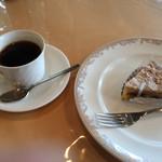 ボワサン - 栗のタルトとホットコーヒー  H28.10