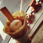 ラブクレープ - 南国バターキャラメル(ココナッツアイス)