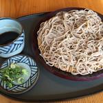 そば処 麺歩 - 料理写真:もりそば=650円