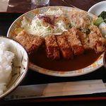 56835619 - 三平食堂といえば                       昭和洋食を代表するビーフカツ。