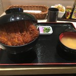 明治亭 - 駒ケ根ソースカツ丼1340円