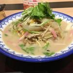自家製麺ちゃんぽん潮菜 - 料理写真:潮菜ちゃんぽん780円