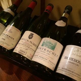 ◆こだわりのワインが多数◆