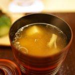 銀座 奥田 - お味噌汁