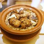 銀座 奥田 - 松茸とかますの御飯