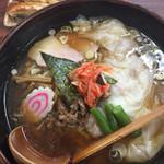 56839438 - ワンタンメン&焼き餃子