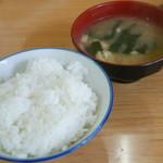 キッチン マロ - ランチのハンバーグ(680円)2016年10月