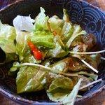 5684081 - 蕎麦遊膳 響(昼):サラダ