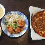 56840776 - 麻婆豆腐ランチ
