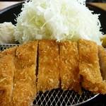 蒜山高原サービスエリア(下り線)レストラン - 大山豚トンカツ御膳