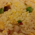 梅蘭 - ランチセットの炒飯
