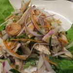 フォー チュン - 蒸し鶏のサラダ