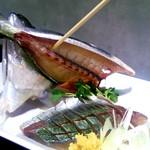 和食のすゝめ - 「鯵の造り」新鮮なので臭みもなく絶品