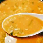 三河開化亭 - スープ