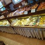 はっくるべりー - 店内 パン棚
