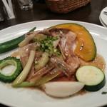 味工房夢魚 - カジキマグロのソテー、長葱ソース