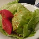 じゅうしい - サラダ!トマトの色!あざやか