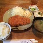 56847951 - 上ロースカツ定食(¥1150)