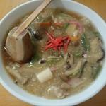 かきくけこ - 料理写真:ガタタンラーメン(850円)
