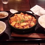 56849857 - マーボー豆腐定食 800円