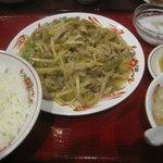 5685705 - 豚肉とザーサイ炒めランチ