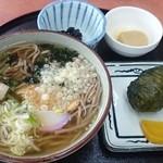 56852164 - 熊野そば定食(税込1,050円)(2016.10)