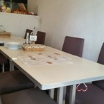 Ristorante Rin - テーブル席。