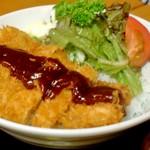 富士屋食堂 - 料理写真:味噌カツ(ピンボケ)