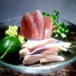 和食のすゝめ - 「鰹と秋刀魚のお造り」新鮮で美味!