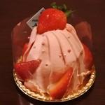 プリンセスケーキ アリス - イチゴのモンブラン