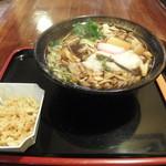ふじや食堂 - 料理写真:山菜きのことろろ 105円