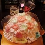 プリンセスケーキ アリス - 美しいリトルプリンセスドールケーキ