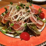 海鮮問屋 - カルパッチョサラダ