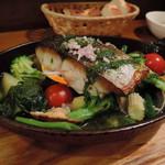 56855977 - 2016夏 サワラ、アサリ、お野菜のオーブン焼き
