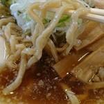 麺屋 にぼすけ - 太麺