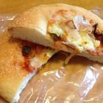 ミルクキッチン 燦燦 - ピザパン 120円