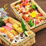 鮨旬美西川 - 時期にもよりますが寿司折もご用意致します〈要予約〉