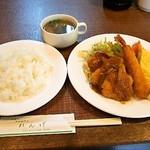 レストハウス れんげ - 料理写真:日替わりランチ
