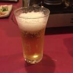 56862931 - まずは瓶ビールで乾杯です。生は邪道です(笑)