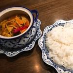 メナムのほとり - 「森のスープカレー豚肉入り」980円