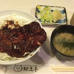 56863035 - 名古屋名物味噌カツ丼  800円  (2016.9月)
