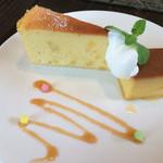 カフェ マンナ - ★★★お芋のケーキ  ★★★☆カボチャプリン