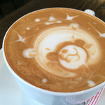 カフェ マンナ - ★★★☆ ハロウィンバージョンのカプチーノ