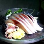 和食のすゝめ - 「鯖造り」新鮮な鯖は脂が乗っていて・・・たまらない美味しさ