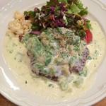 ペロリ - 料理写真:アボガドクリームハンバーグ