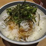 麺屋 ひしお 和歌山駅前店 - 湯浅の名物 釜揚げしらすのしらす丼
