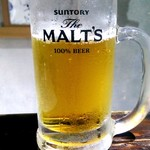 和食のすゝめ - 生ビール